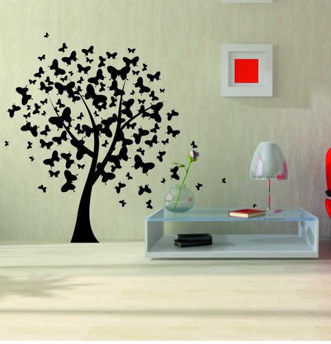 vinilos decorativos de pared, arboles y florales + regalo!!!