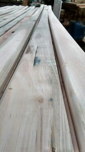 zocalo de eucaliptus grandis 3/4 x 3 rustico con nudos